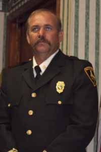 Photo of Fire Chief William Duvall