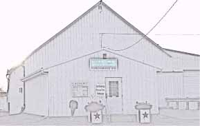drawing of barn office